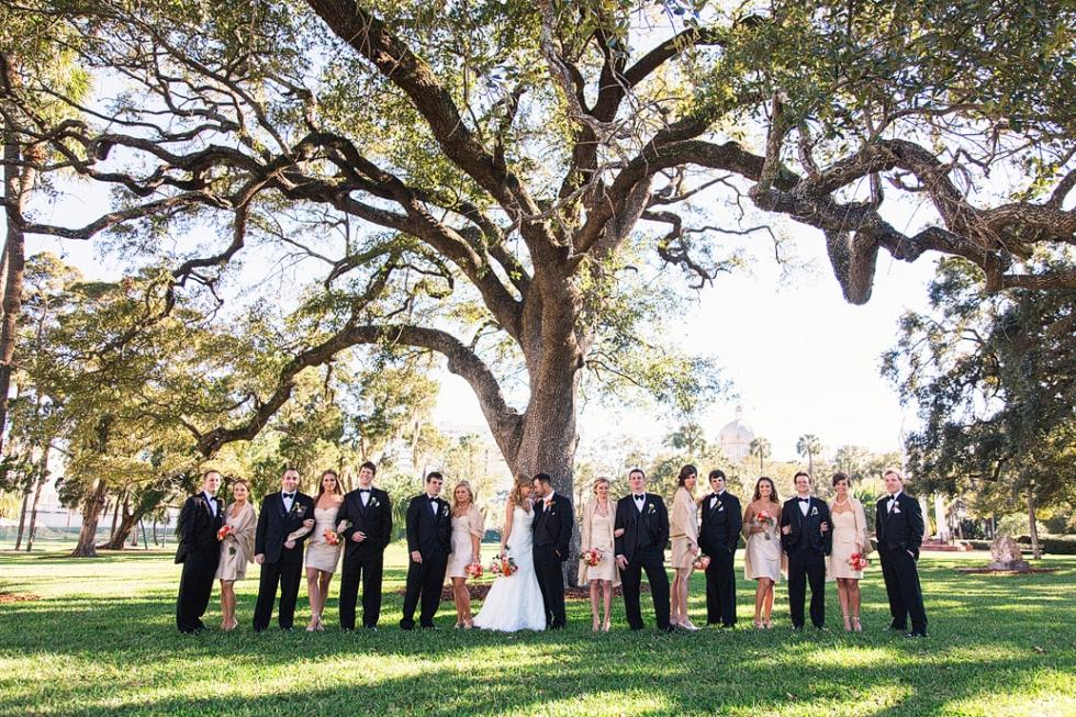 the university of tampa tampa wedding photographer lisa greg wedding