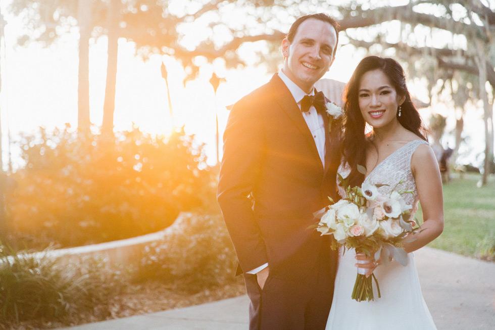 Florida platinum wedding