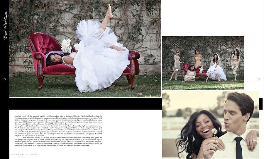 Munaluchi Bride Magazine Features KK Photography Wedding